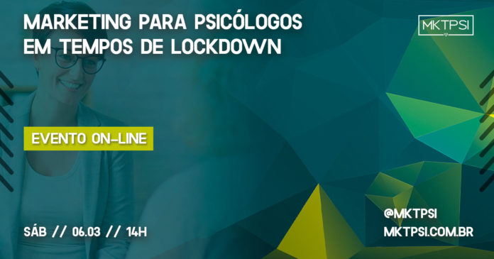 Marketing para Psicólogos em tempos de Lockdown Workshop